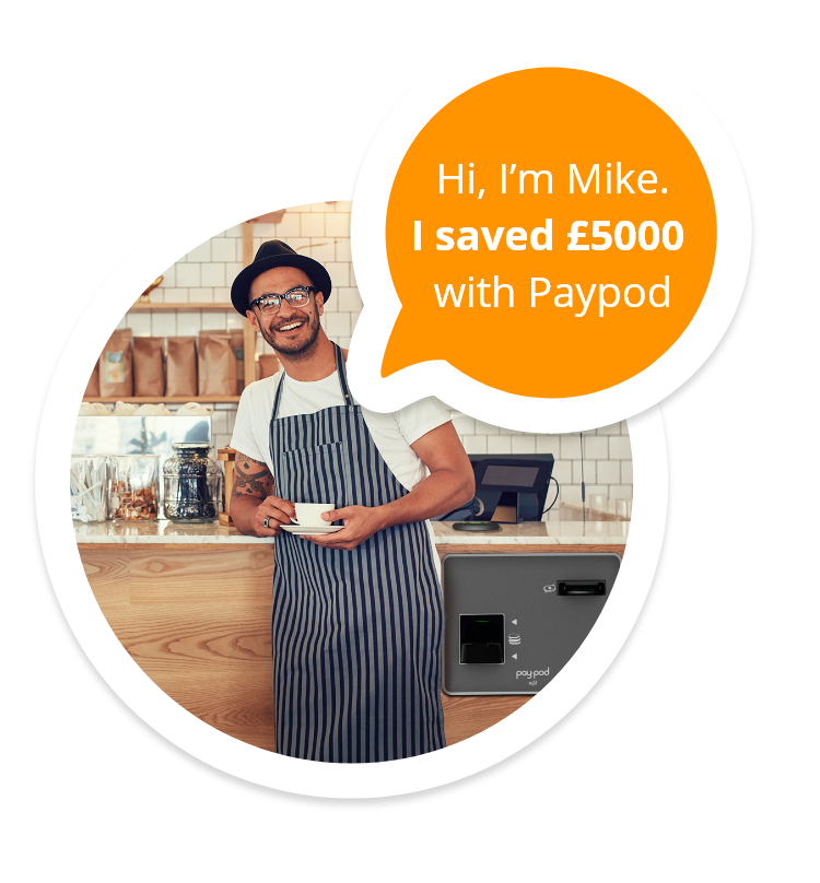 Hi, I'm Mike. I saved £5000 with Paypod.